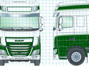 3 nieuwe DAF trucks toegevoegd aan wagenpark