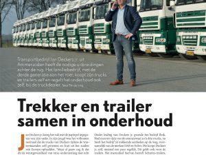 Artikel in Aftersales Truck