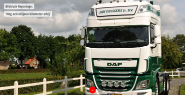 Jan Deckers Jr BV in reportage BIGtruck - Jan Deckers Jr BV