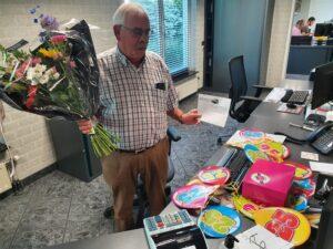 Jan Verweij 25 jaar in dienst !!